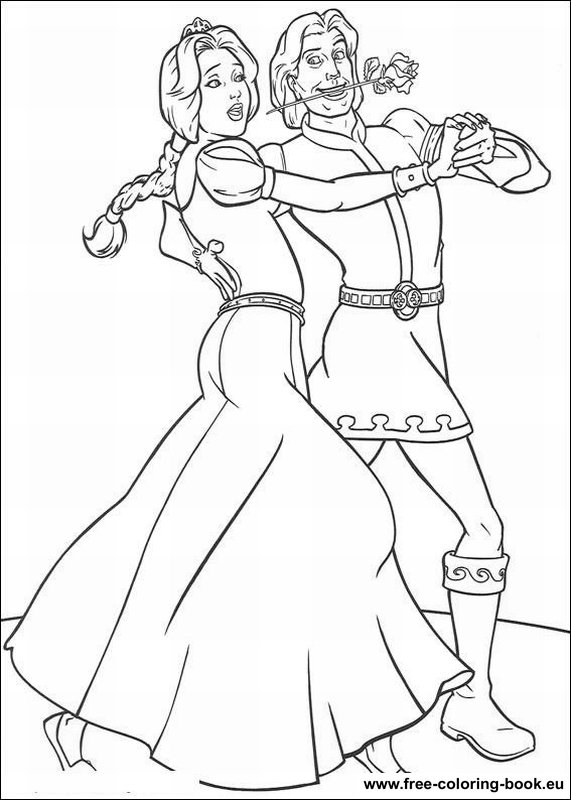 Coloring Pages Shrek