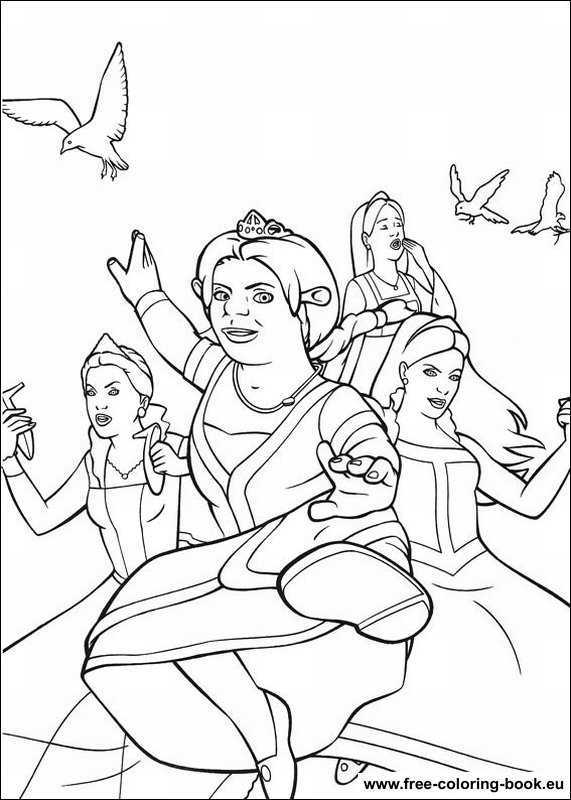 Coloring pages shrek page 2 printable coloring pages for Coloring pages shrek