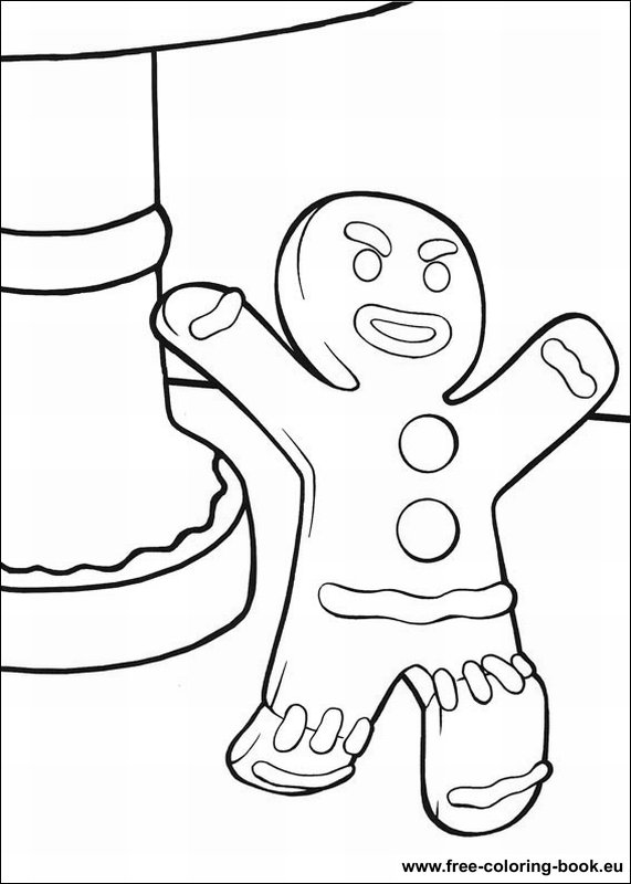 shrek 2 coloring book pages - photo#19