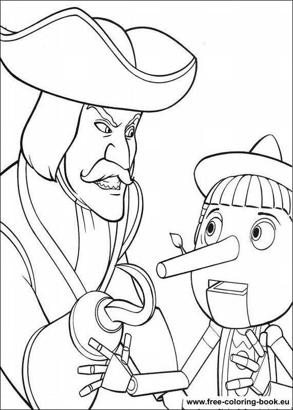 coloring pages shrek - page 2