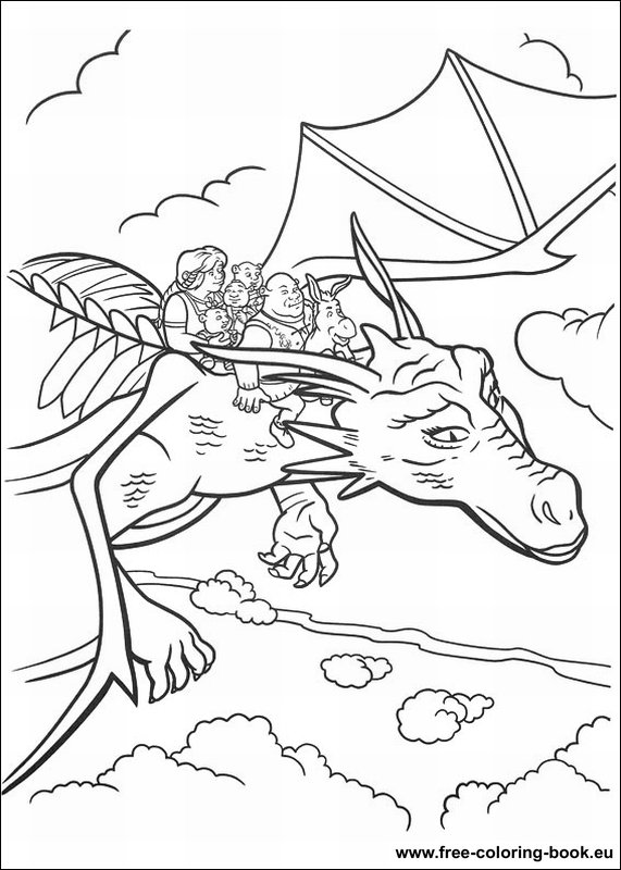 Coloring pages Shrek - Page 4 - Printable Coloring Pages Online