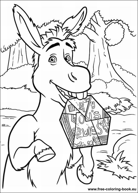 Coloring Pages Shrek Page 4 Printable Coloring Pages
