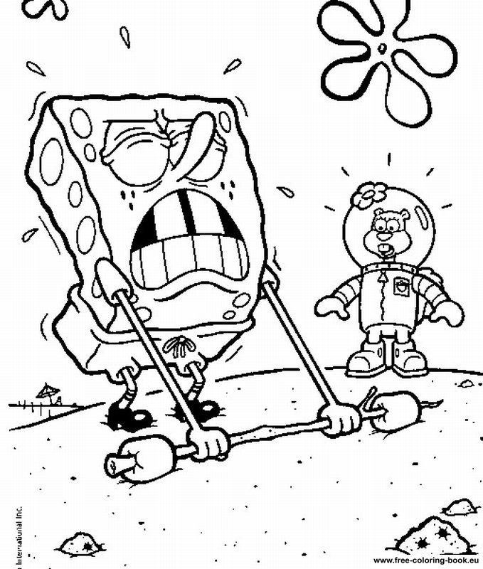 Coloring pages spongebob page 1 printable coloring for Spongebob coloring pages online