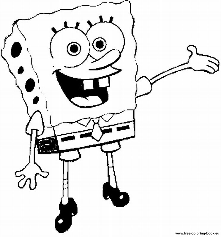 Coloring pages SpongeBob - Page 2 - Printable Coloring ...
