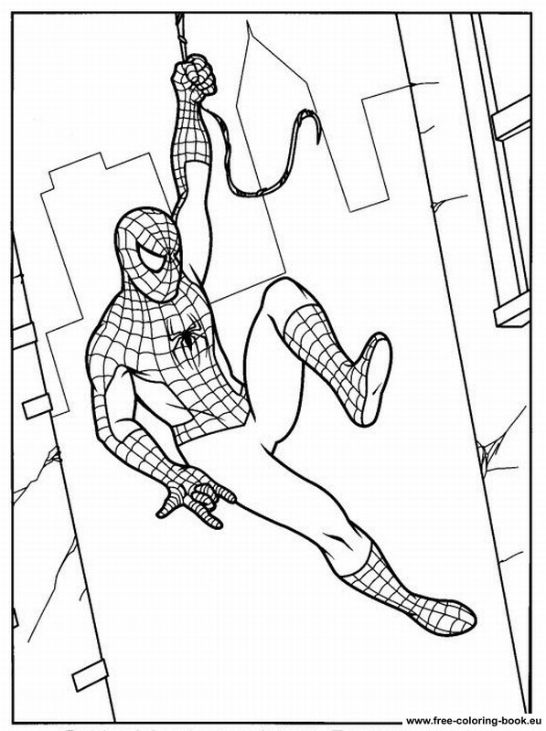 Coloring Pages Spiderman