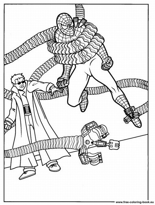 Coloring pages Spiderman - Page 2 - Printable Coloring ...