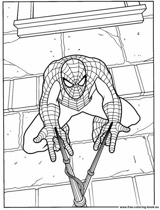 Free coloring pages of the amazing spider man 2 for Amazing spiderman 2 coloring pages