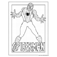 coloring pages spiderman - page 2