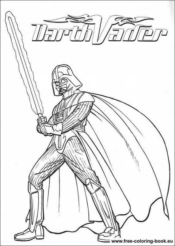 Coloring pages Star Wars Page