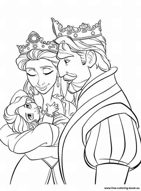 tangled coloring pages disney - photo#36