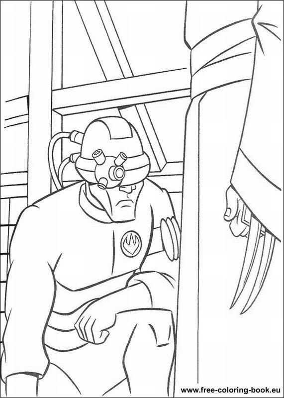 Coloring Pages Teenage Mutant Ninja Turtles Tmnt Page 1