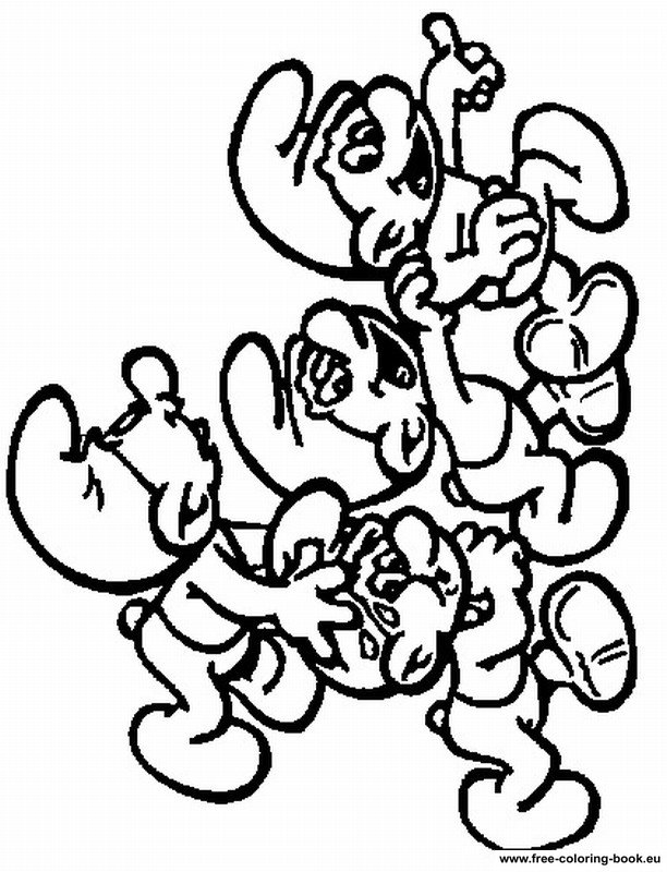 coloring pages the smurfs - page 2