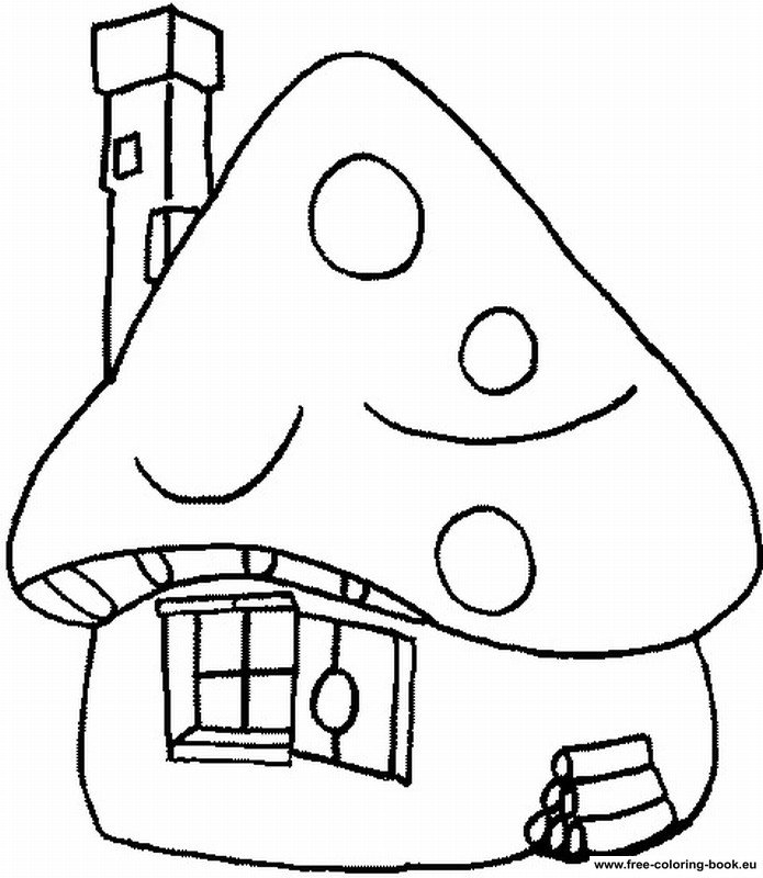 printable smurf coloring pages - photo#16