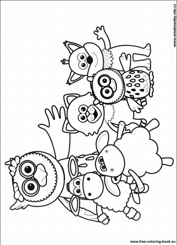 Coloring pages Timmy Time Page