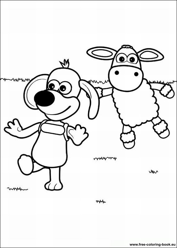 shaun the sheep coloring pages - Shaun The Sheep Coloring Pages
