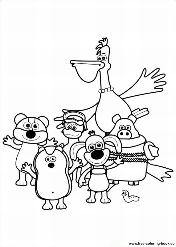 Coloring pages Timmy Time - Page 2 - Printable Coloring Pages Online