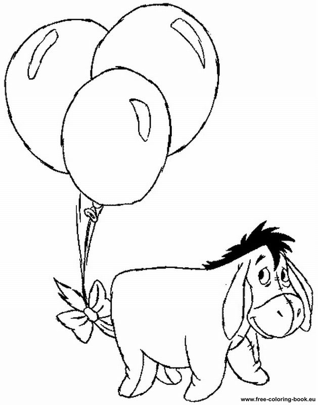 Coloring pages Winnie the Pooh - Page 1 - Printable Coloring Pages ...