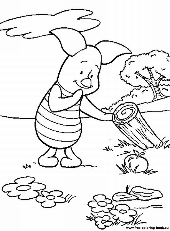 Coloring pages Winnie the Pooh Page 1 Printable