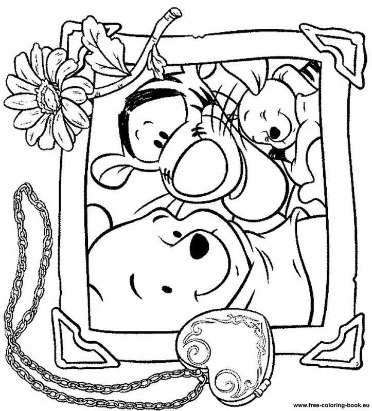 Coloring pages Winnie the Pooh - Page 3 - Printable ...