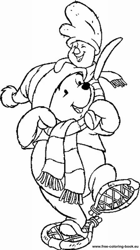 Coloring Pages Winnie The Pooh Page 3 Printable
