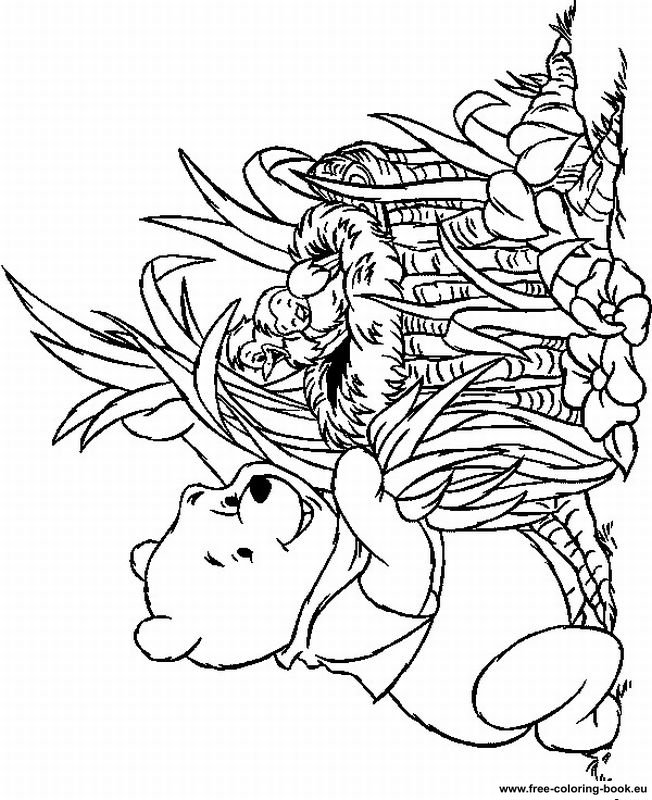 Coloring pages Winnie the Pooh Page 7 Printable