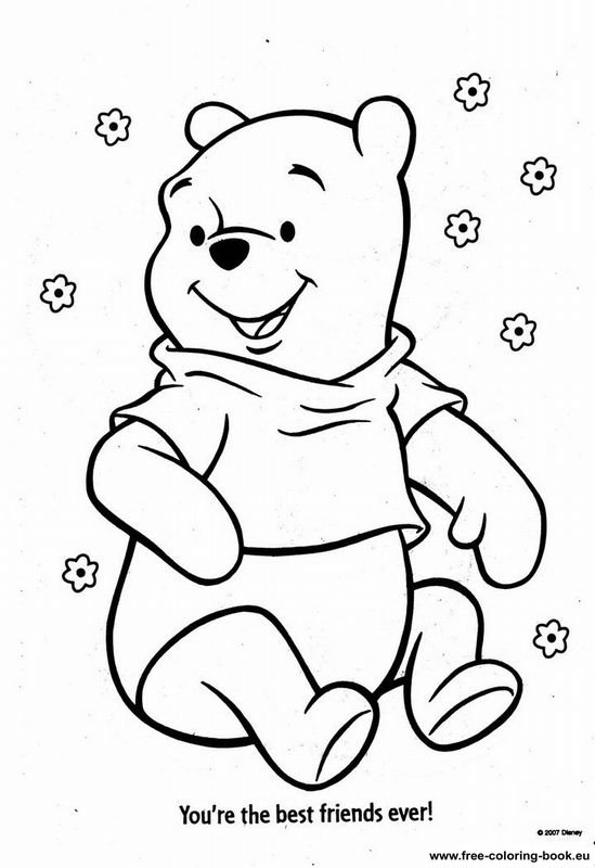 Coloring Pages Winnie The Pooh Page 10 Printable